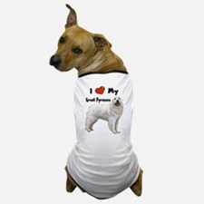 I Love My Great Pyrenees Dog T-Shirt