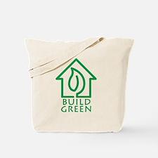 Build Green Tote Bag