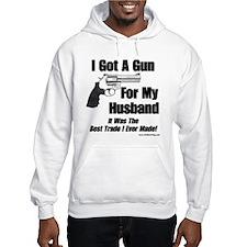 """""""Handgun For My Husband"""" Hoodie"""
