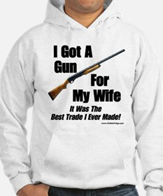 """Shotgun For My Wife"" Jumper Hoody"