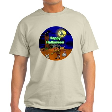 Halloween Scene Light T-Shirt