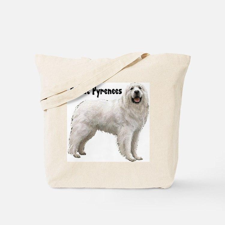 Great Pyrenees Tote Bag