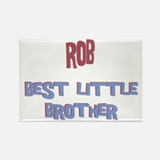 Rob - Best Little Brother Rectangle Magnet