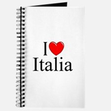 """I Love (Heart) Italia"" Journal"