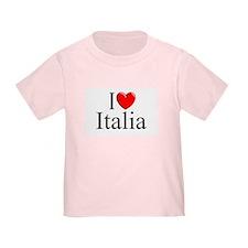 """""""I Love (Heart) Italia"""" T"""