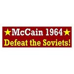 McCain 1964: Defeat the Soviets bumper sticker