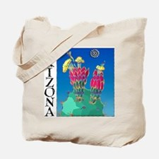 Arizona Prickly Pear Cactus Tote Bag