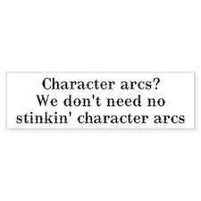 Character arcs? Bumper Bumper Sticker