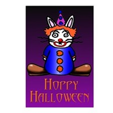 Clown Bunny Postcards (Package of 8)