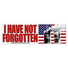September 11th Bumper Bumper Sticker
