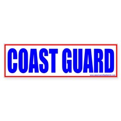 United States Coast Guard Bumper Bumper Sticker