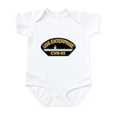 Unique Cvn65 Infant Bodysuit