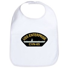 Cute Uss enterprise cvn 65 Bib