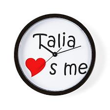 Talia Wall Clock