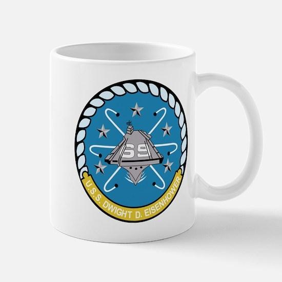 cvn_69_carrier Mugs