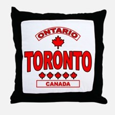 Toronto Ontario Throw Pillow