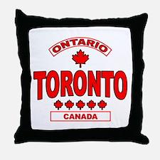 Toronto Ontario Throw Pillow