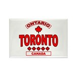 Toronto Ontario Rectangle Magnet