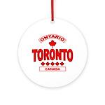 Toronto Ontario Ornament (Round)