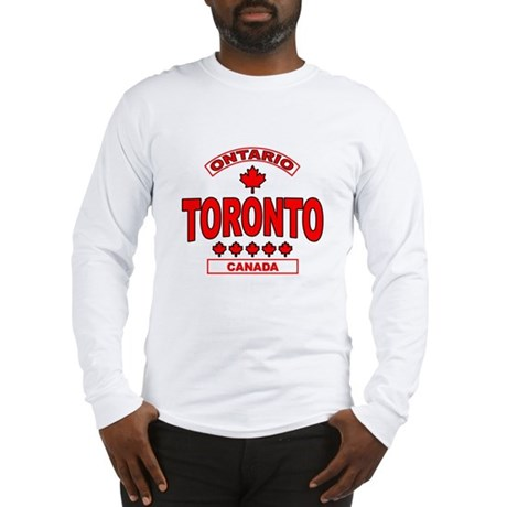 Toronto Ontario Long Sleeve T-Shirt