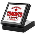 Toronto Ontario Keepsake Box
