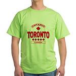 Toronto Ontario Green T-Shirt