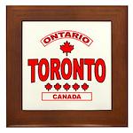 Toronto Ontario Framed Tile