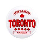 """Toronto Ontario 3.5"""" Button"""