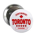 """Toronto Ontario 2.25"""" Button"""