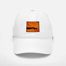 Tribal Bellydance orange Baseball Baseball Cap