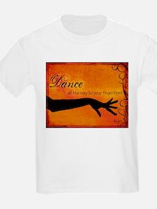 Tribal Bellydance orange T-Shirt