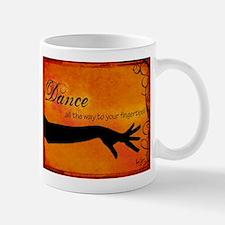 Tribal Bellydance orange Mug