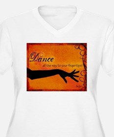 Tribal Bellydance orange T-Shirt