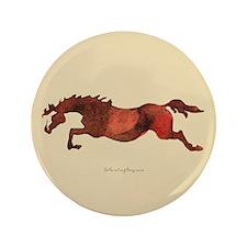 "Jumping Horse 3.5"" Button"