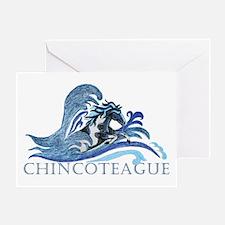 Chincoteague Pony Greeting Card
