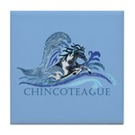 Chincoteague Pony Tile Coaster