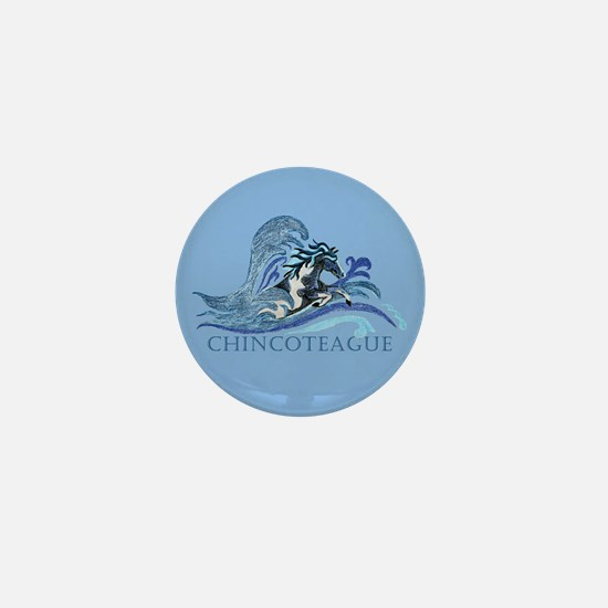 Chincoteague Pony Mini Button