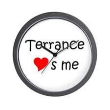 Cool Terrance name Wall Clock