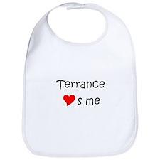 Cool Terrance name Bib
