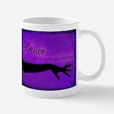 Tribal Bellydance purple Mug