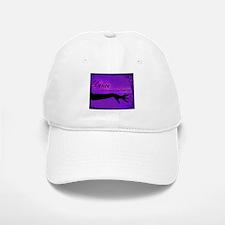 Tribal Bellydance purple Baseball Baseball Cap