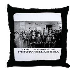 Oklahoma Territory Throw Pillow