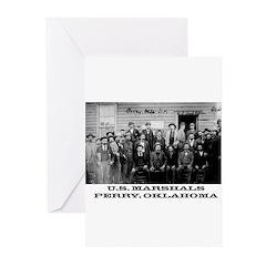 Oklahoma Territory Greeting Cards (Pk of 10)