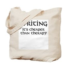 Writing therapy Tote Bag