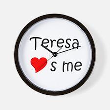 Cute Teresa Wall Clock