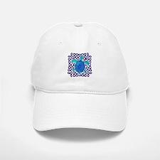 Celtic Knot Turtle (Blue) Baseball Baseball Cap