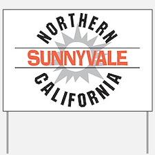 Sunnyvale California Yard Sign