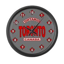 Toronto Ontario Large Wall Clock