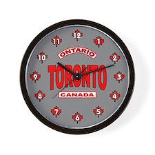 Toronto Ontario Wall Clock