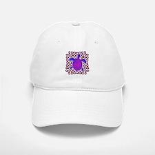 Celtic Knot Turtle (Purple) Baseball Baseball Cap